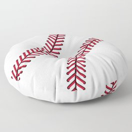 Fantasy Baseball Super Fan Home Run Floor Pillow