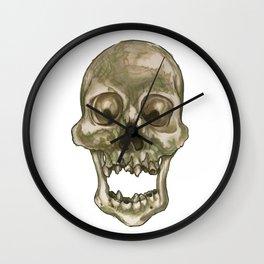 Skull - Decay and Rot Wall Clock