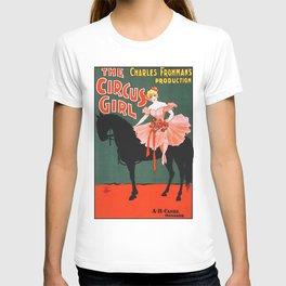 Circus Girl vintage poster art T-shirt