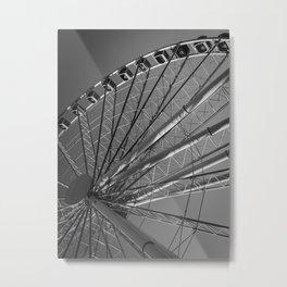 Wheel in the Sky Metal Print