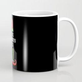 Naughty Elf Family Group Christmas Gift Coffee Mug