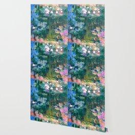 water lilies : Monet Wallpaper