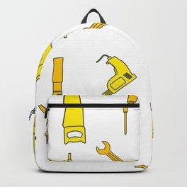 Carpenter Tools Design Backpack
