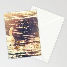 Dreamy Swan Stationery Cards
