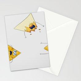nachos 2 Stationery Cards