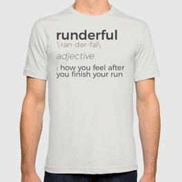 Adrenaline Rush Runner's High Running Is Life Run Design T-shirt