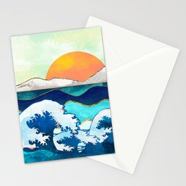 Stormy Waters Stationery Cards