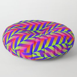 Zig Zag Folding Floor Pillow