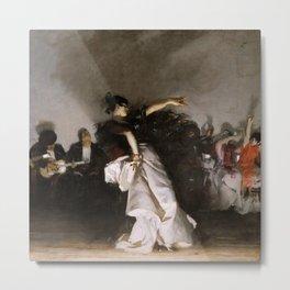 El Jaleo (Spanish Dancer) - John Singer Sargent Metal Print