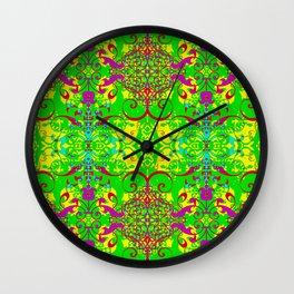 Roxbury (2 prints- 70's & 80's colors) Wall Clock