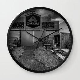 Artisan Pizza Wall Clock