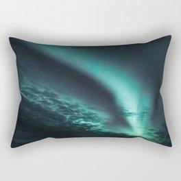 Aurora Borealis IV Rectangular Pillow