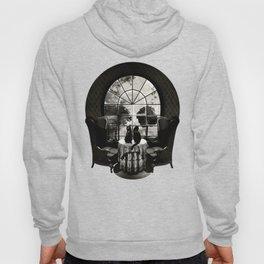 Room Skull B&W Hoodie
