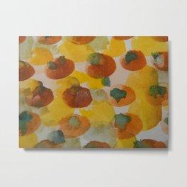 tomatoes and squash Metal Print