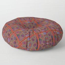 Kuna Mola Pattern Floor Pillow