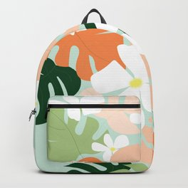 Tropical Blooms Backpack