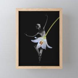 Ballet Dancer 2 Framed Mini Art Print