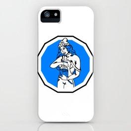 Astro Aquarius woman iPhone Case