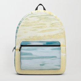 Kapalua Beach dream colours sparkling golden sand seafoam Maui Hawaii Backpack