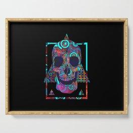 Digi-Skull Serving Tray
