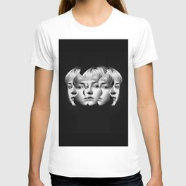 Woman in Anger T-shirt