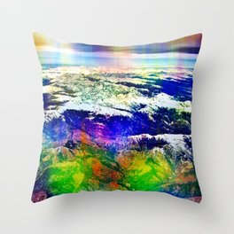 "Sunday 23 December 2012: ""...stranger than known / Sounds..."" Throw Pillow"