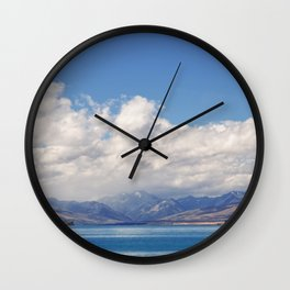 Lake Tekapo 1 Wall Clock