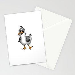 PLATTDEUTSCHER SPRUCH MÖWE Stationery Cards