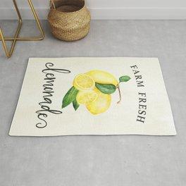 Farm Fresh Lemonade Southern Decor Art Print Rug