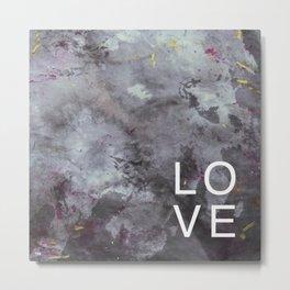 LOVE in Motion  Metal Print