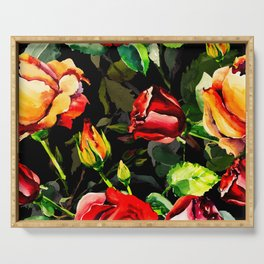 Dreaming Of Roses Serving Tray