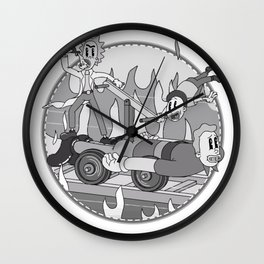 1920's Multiverse Wall Clock