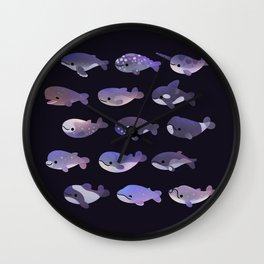 Whale Day Wall Clock