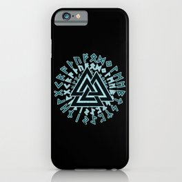 Valknut | Viking Warrior Symbol Triangle iPhone Case