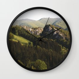 Mountain landscape Wall Clock