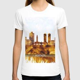 Hoboken New Jersey Skyline T-shirt