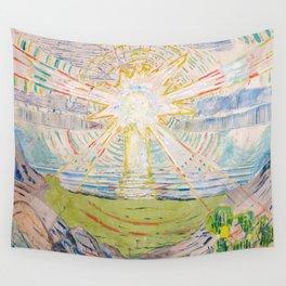 "Edvard Munch ""The Sun"", 1910–11 Wall Tapestry"