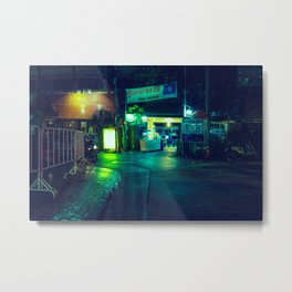 Alley / Bladeunner Vibes / Bangkok Metal Print