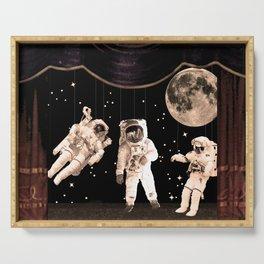NASA [Astronaut] Puppets Serving Tray