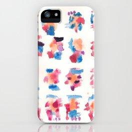 160122 Summer Sydney 2015-16 Watercolor #5 iPhone Case