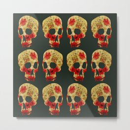 are you dead? Metal Print