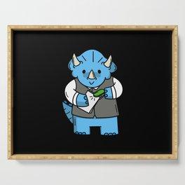 Children's Dinosaur Motif Gift Idea Design Motif Serving Tray