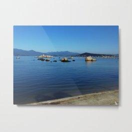Itaguaçu Seascape Metal Print
