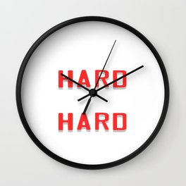 "Are You A Hard Working Person? A Perfect Tee For You Saying "" Work Hard Pray Hard"" T-shirt Strong  Wall Clock"