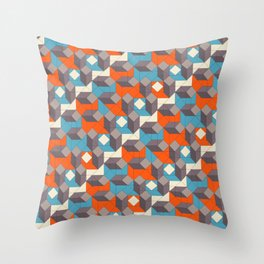 Construct Throw Pillow