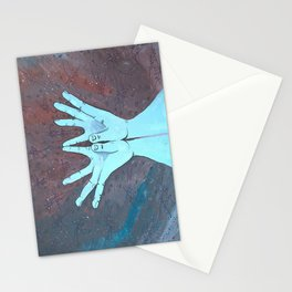 Lotus Mudra Stationery Cards
