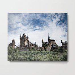 Hike to Medieval Castle Metal Print