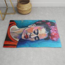 Je te ciel, hommage à Frida Kahlo Rug