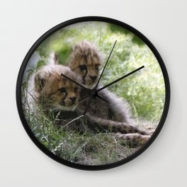 Cheetah20150906 Wall Clock