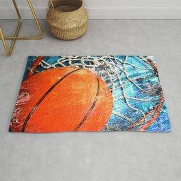 Basketball art variant 1 Rug